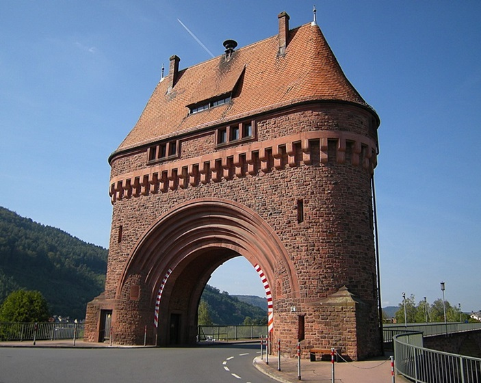 Bridge Tower Miltenberg Germany