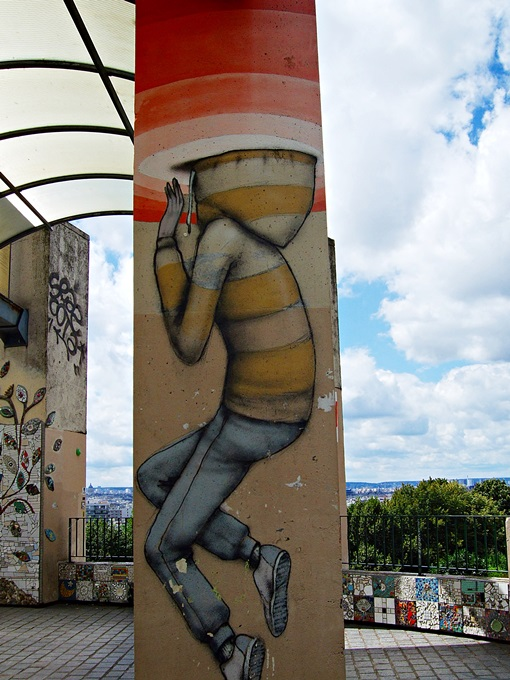 Seth Globepainter Street Art Belleville Paris