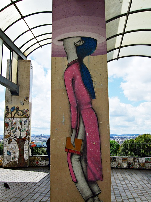 Street Art Belleville Paris 6