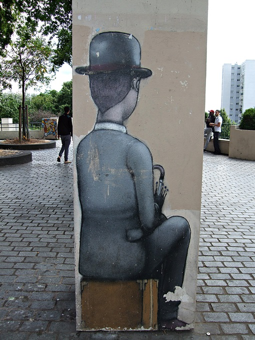 Street Art Belleville Paris 3