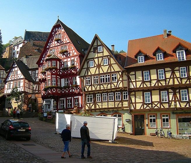 Schnatterloch Miltenberg Travel Germany
