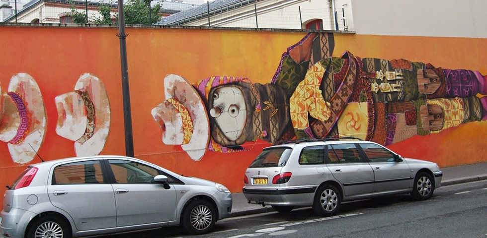 Inti Street Art Paris 13