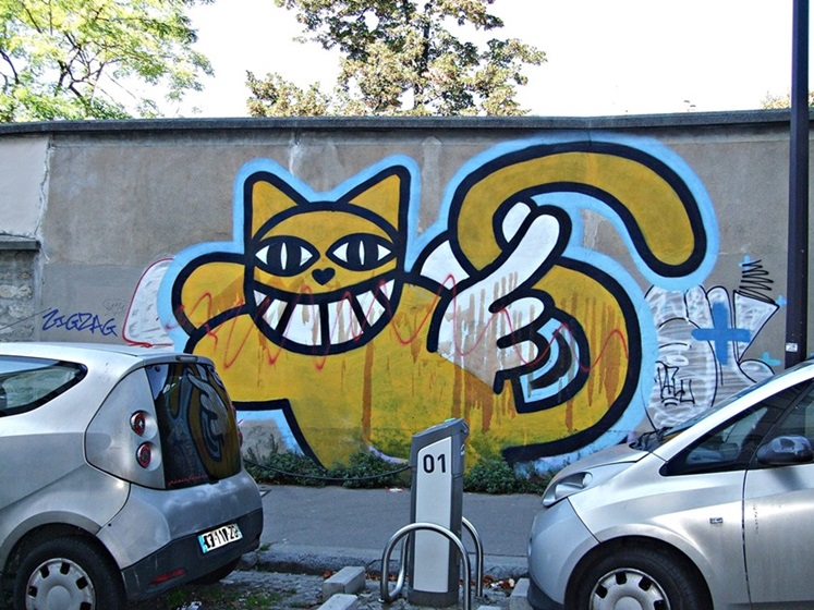 Monsieur Chat Street Art Paris 13