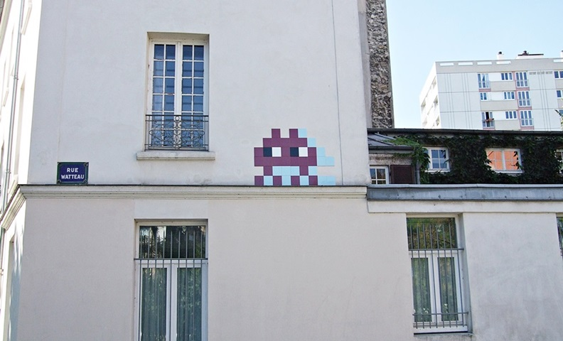 Invader Street Art Paris 13