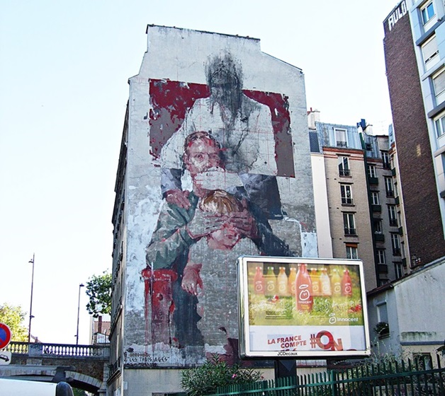 Borondo Street Art Paris 13