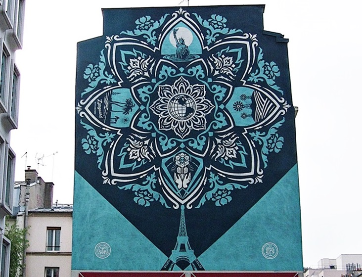 Obey Street Art Paris 13