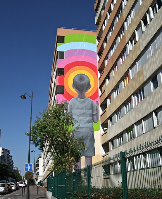 Seth Globepainter Street Art Paris 13