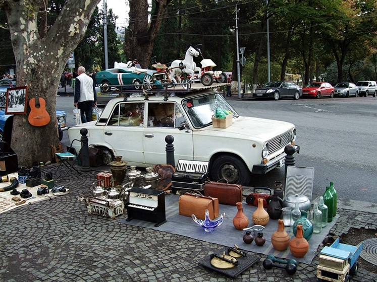 Georgia Tbilisi Flea Market 1; Travel Tbilisi