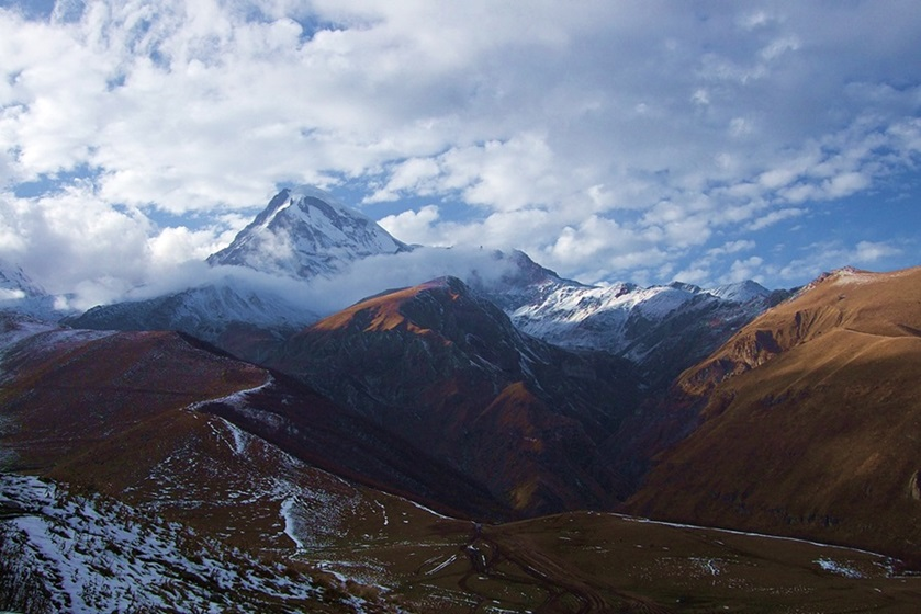 Mount Kazbegi Georgia Caucasus • Travel Georgia