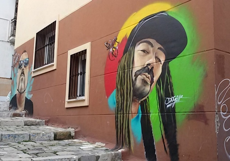 Pirates Street Art, MAUS Project SOHO, Street Art Malaga Lagunillas